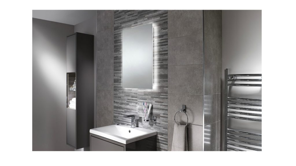 Avalon mirror unveiled by Sensio Lighting