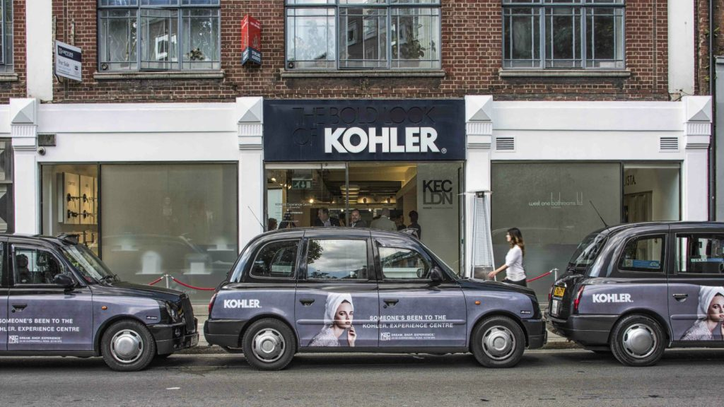 Kohler splits with West One Bathrooms