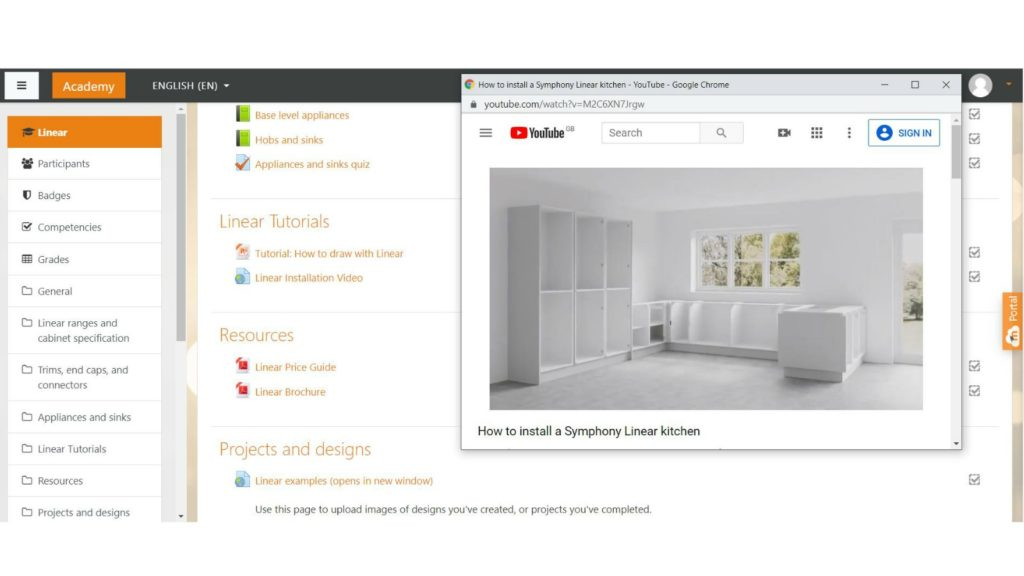 Symphony launches on-line kitchen and bedroom training