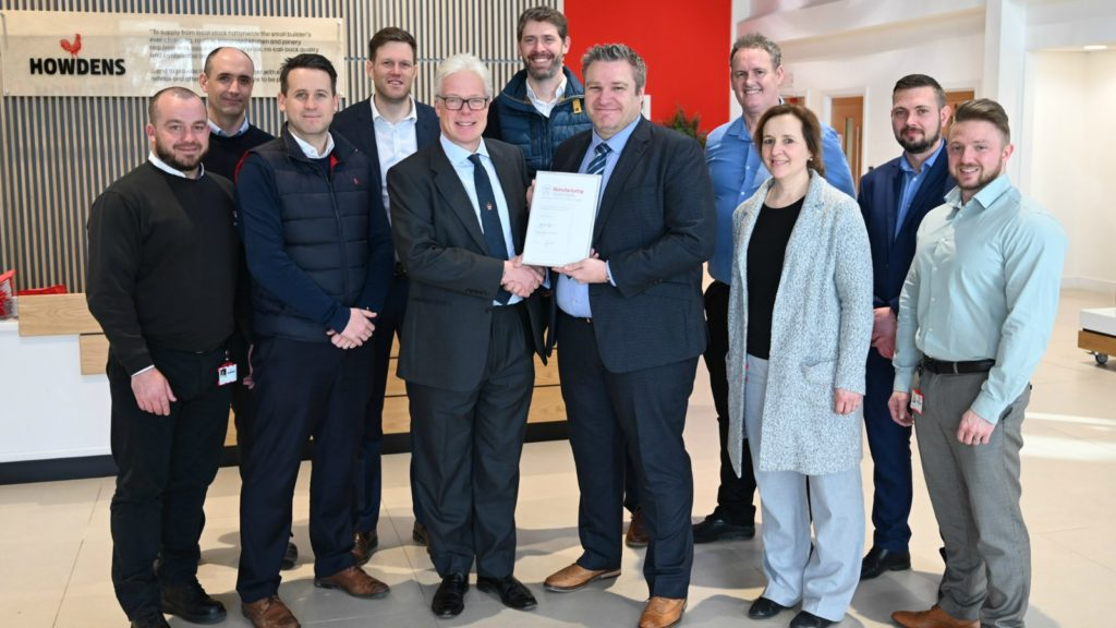 Howdens awarded Manufacturing Guild Mark