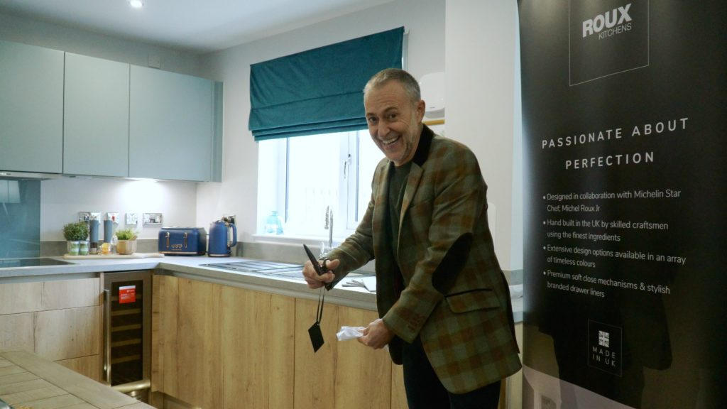 Michel Roux kitchen appears in first Scottish showhouse