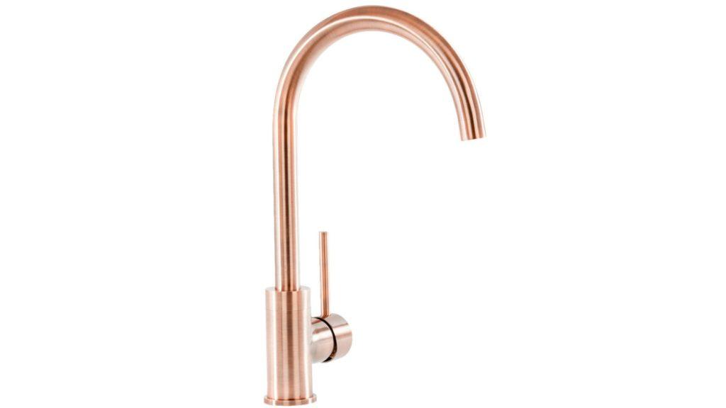 Prima unveils brushed copper tap
