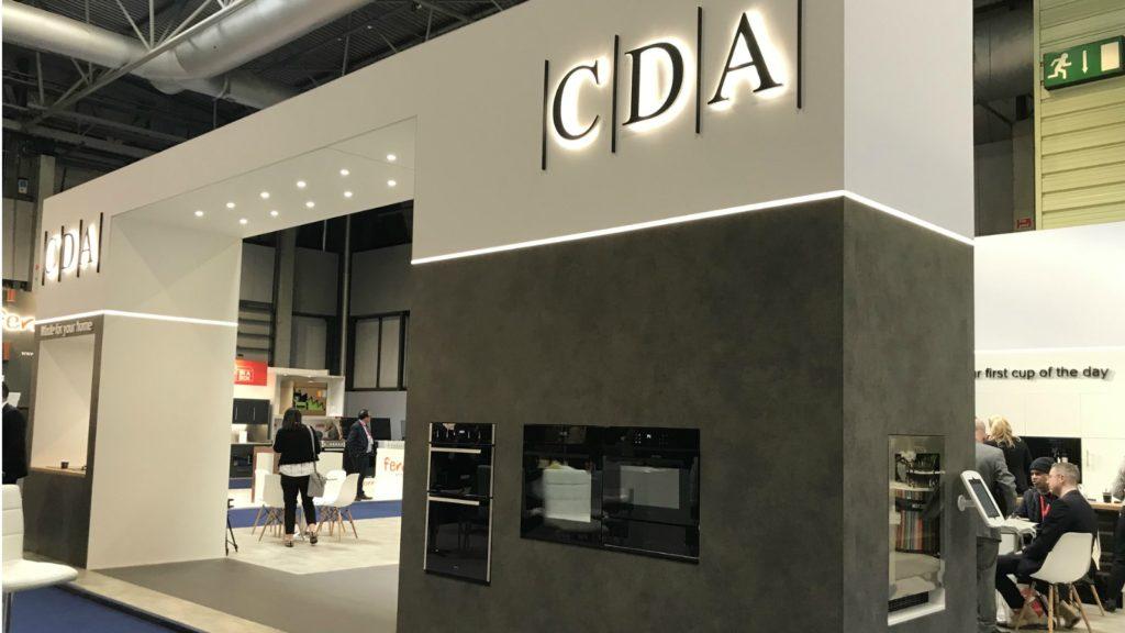 CDA unveils steam oven