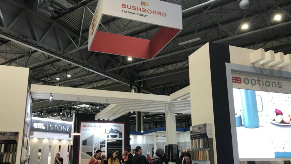 VIDEO: Bushboard overhauls worktop brands at Kbb Birmingham