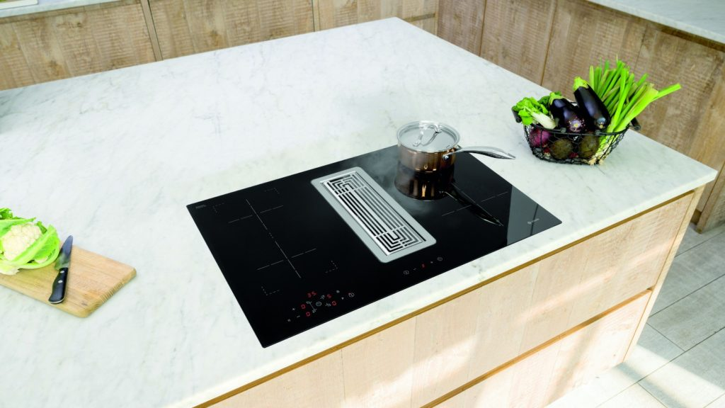 Caple introduces induction downdraft