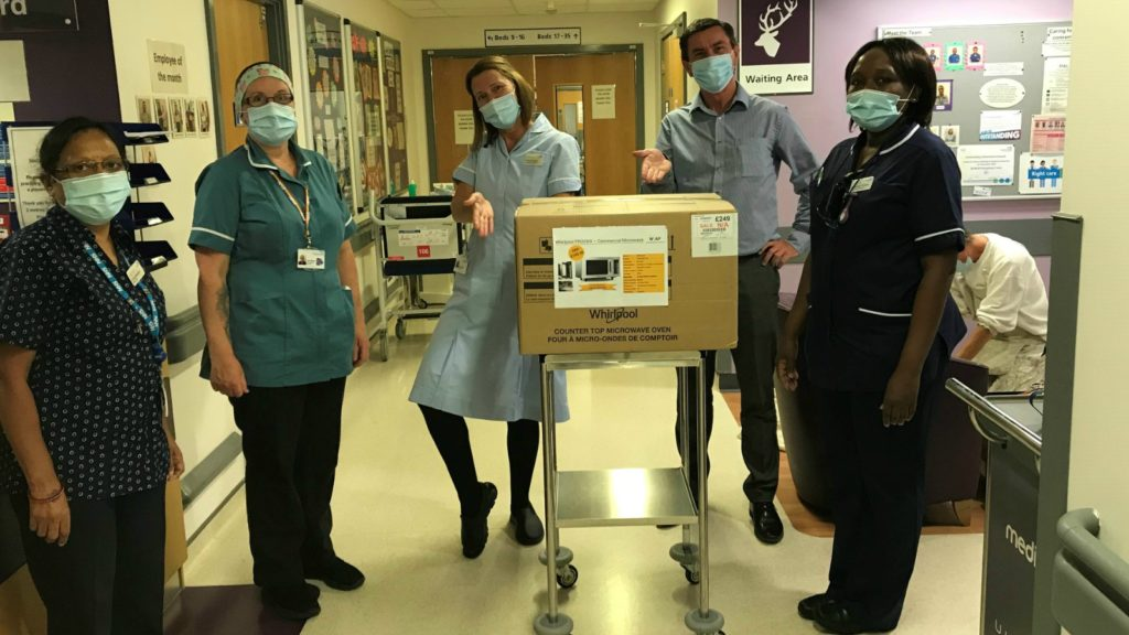 Whirlpool UK donates appliances to NHS