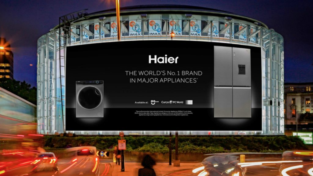 Haier launches World No. 1 ad campaign 1