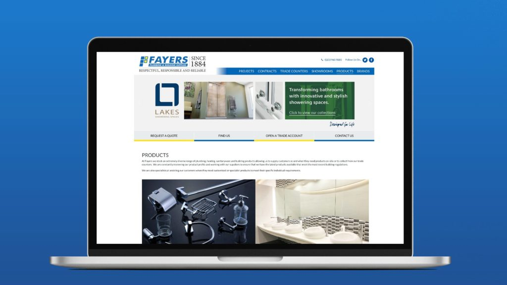 Fayers first retailer to present Lakes online showroom