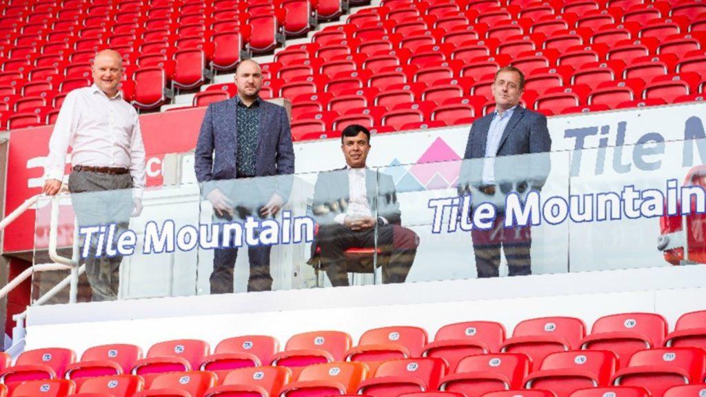 Tile Mountain continues Stoke FC sponsorship