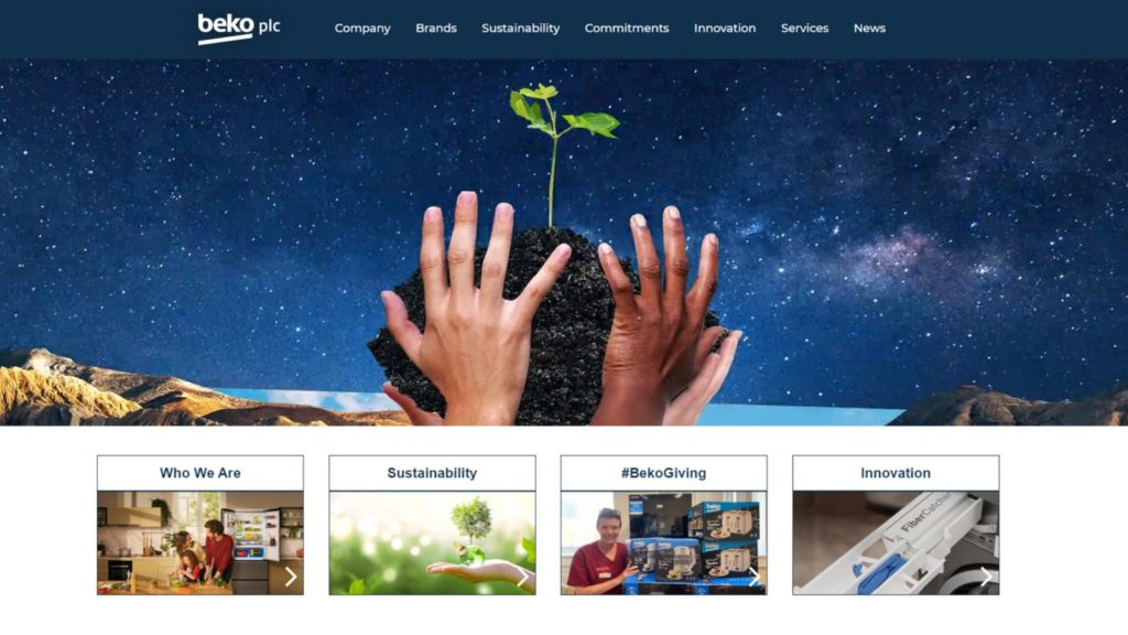 Beko celebrates 30 years in UK with website launch