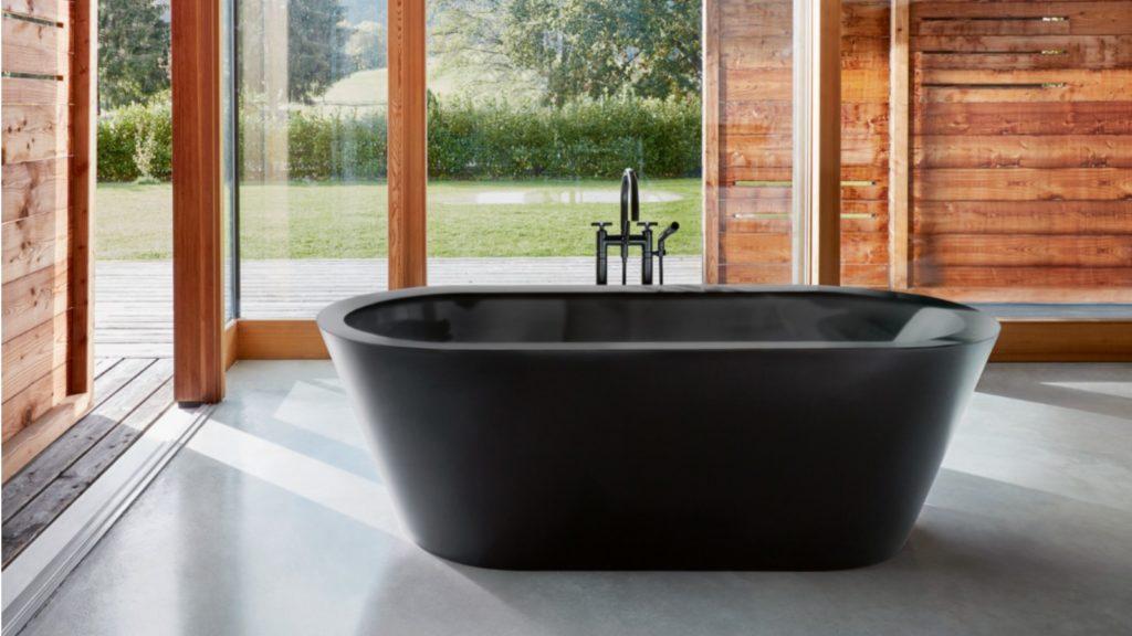 Bette | Matt black baths