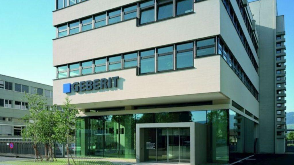 Geberit sales growth in 2020 despite pandemic