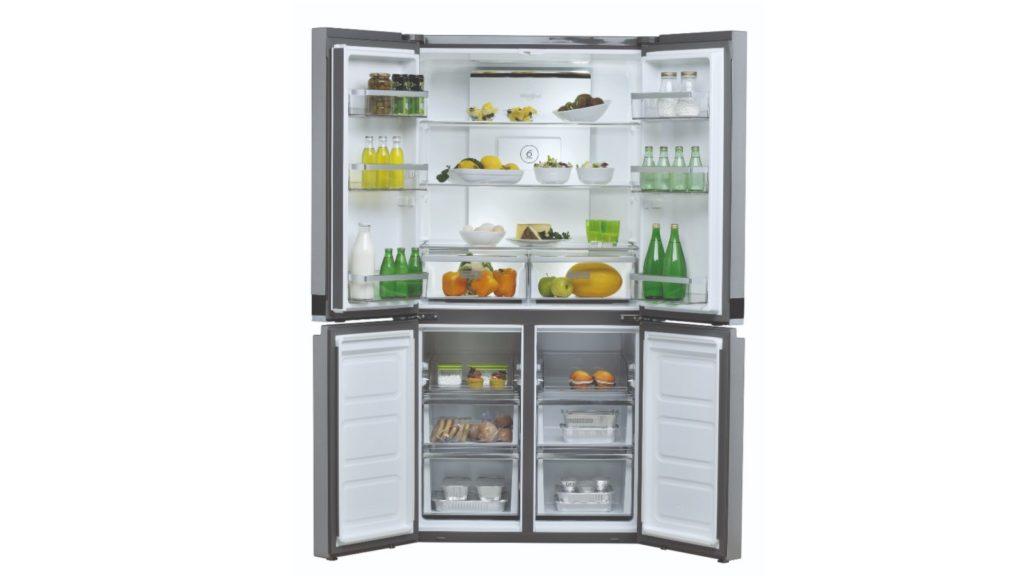 Whirlpool side-by-side fridge freezer