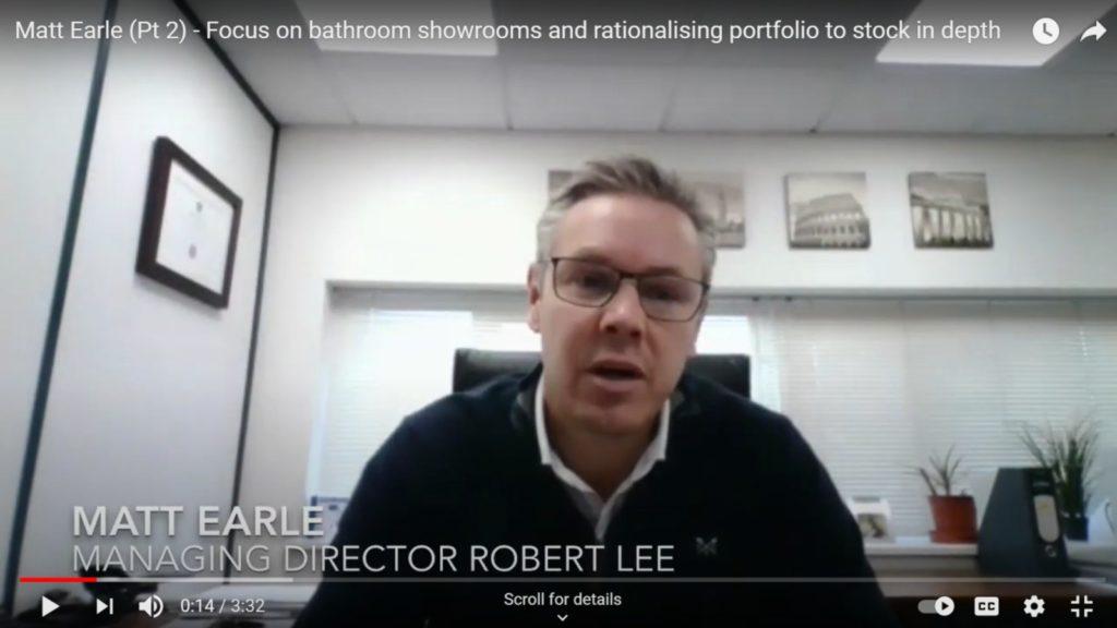 Robert Lee focuses on bathroom showrooms