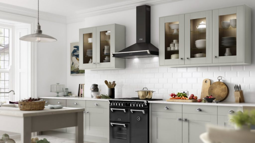 Stoves | Anthracite cooker hood