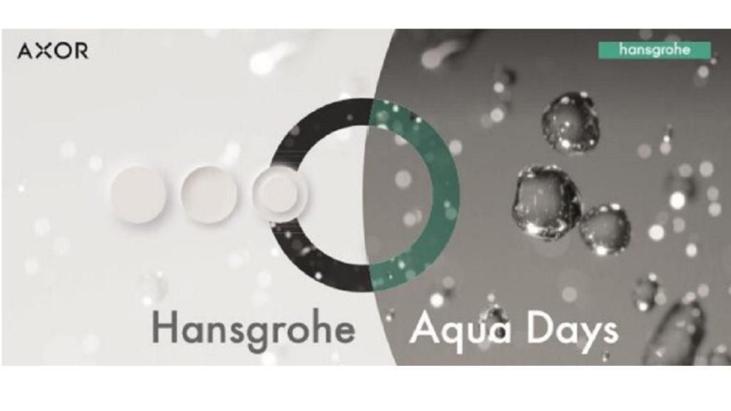 Hansgrohe presents Aqua Days virtual event