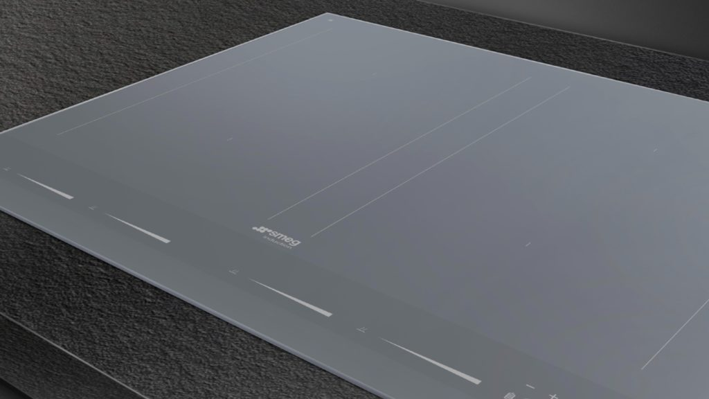 Smeg   Silver Linea induction hob