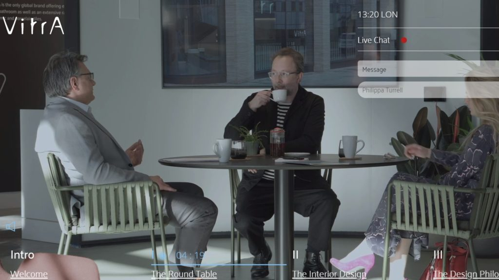 VitrA opens London showroom with short films