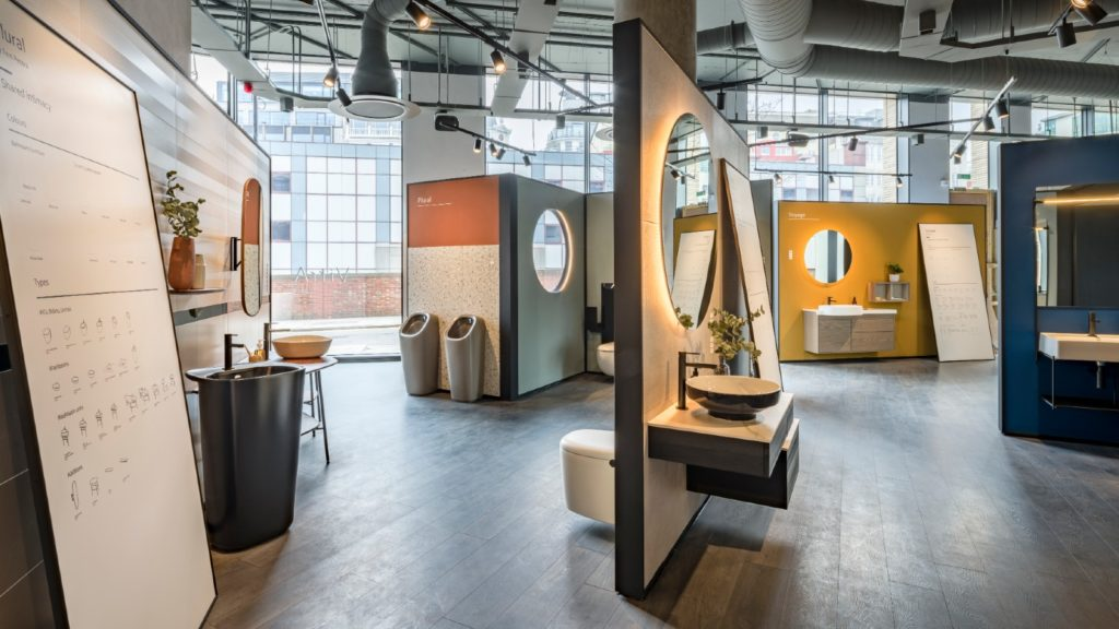 VitrA unveils London showroom with short films