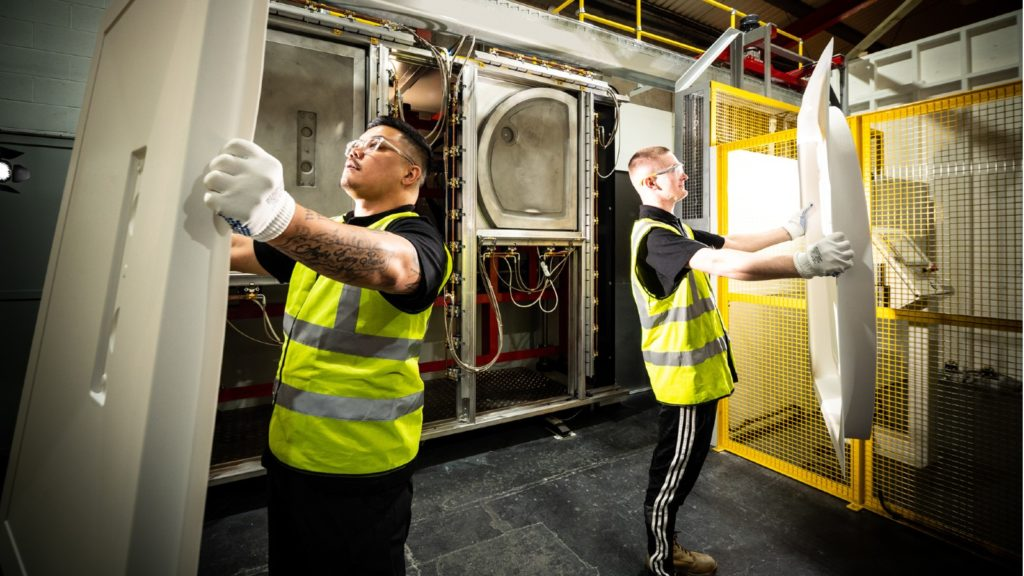 Kudos invests in shower tray production