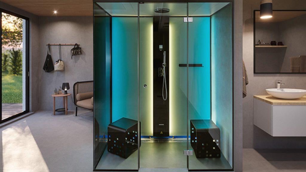 Tylö   Vista steam shower enclosure