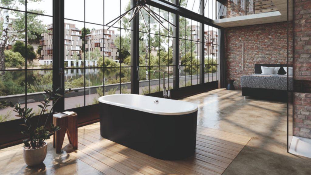 Kaldewei bi-colour bath
