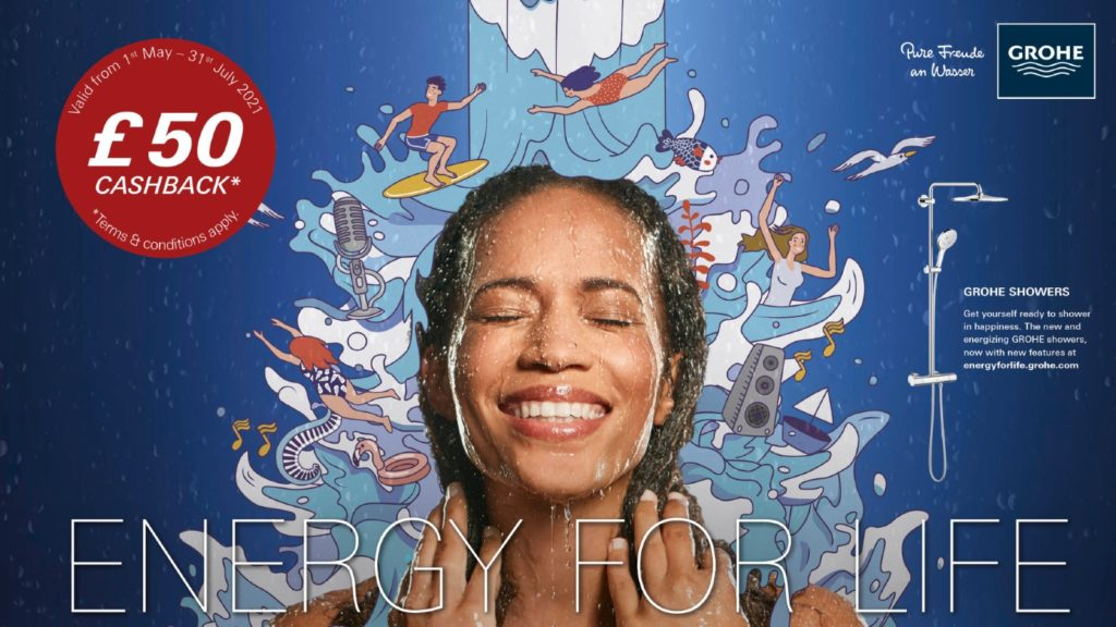 Grohe launches Energy for Life shower campaign