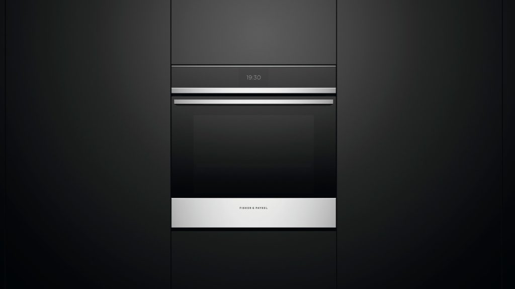 Fisher & Paykel touch screen oven