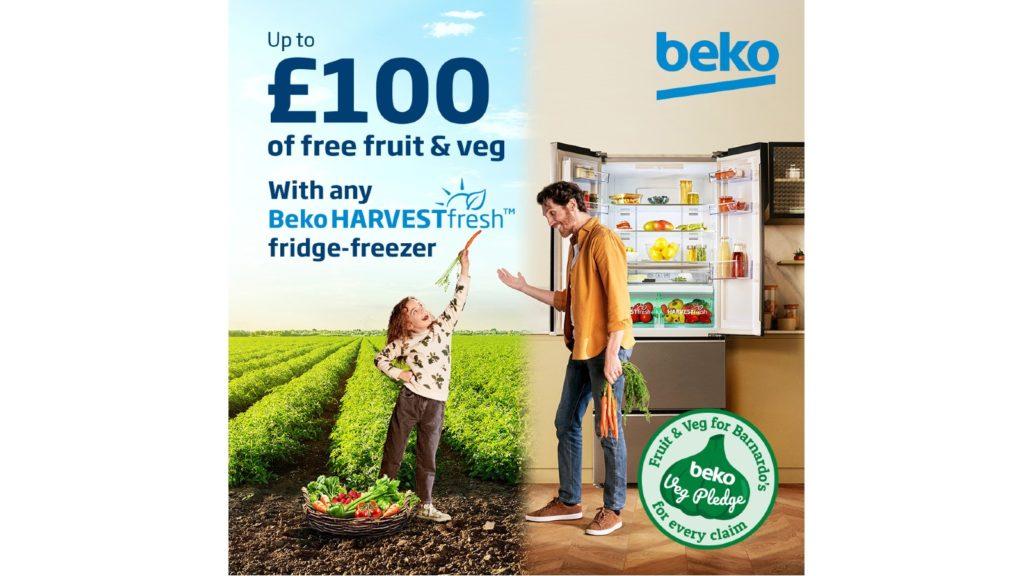 Beko introduces Beko Veg Pledge