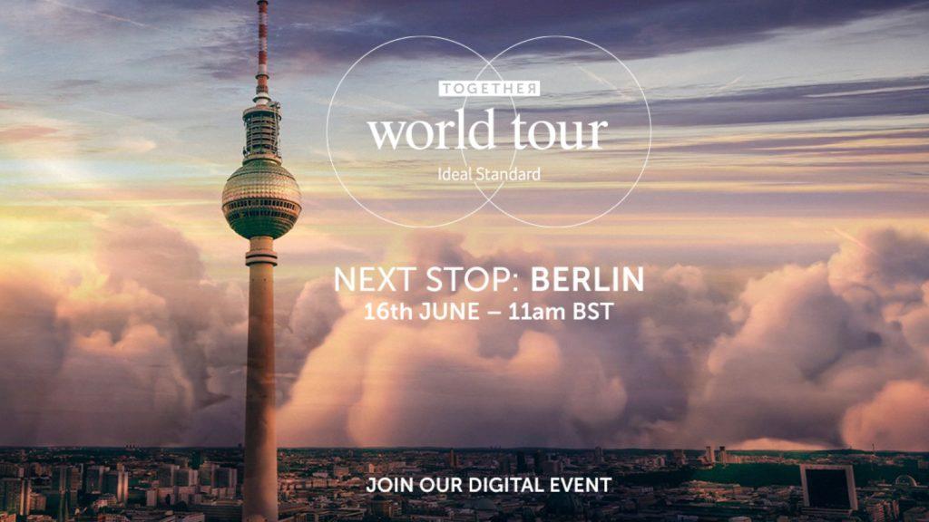 Ideal Standard World Tour reaches Berlin