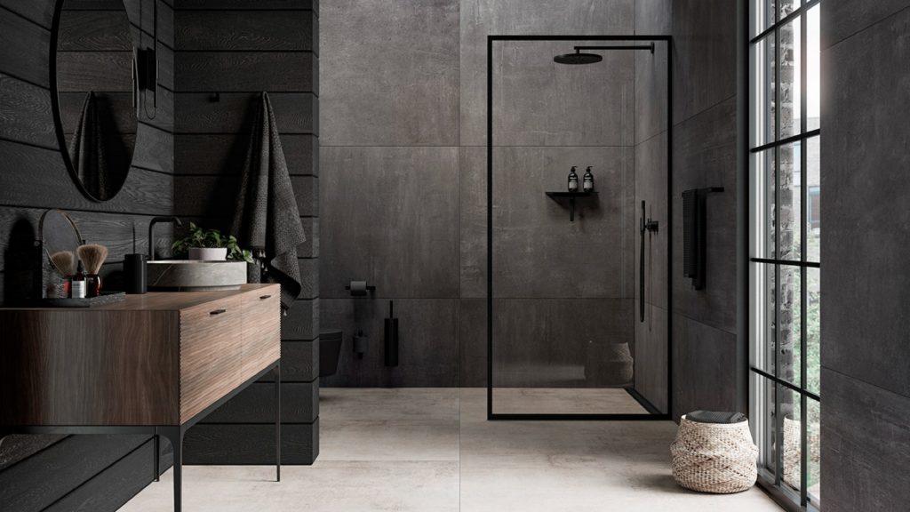 Unidrain   Glassline shower screen