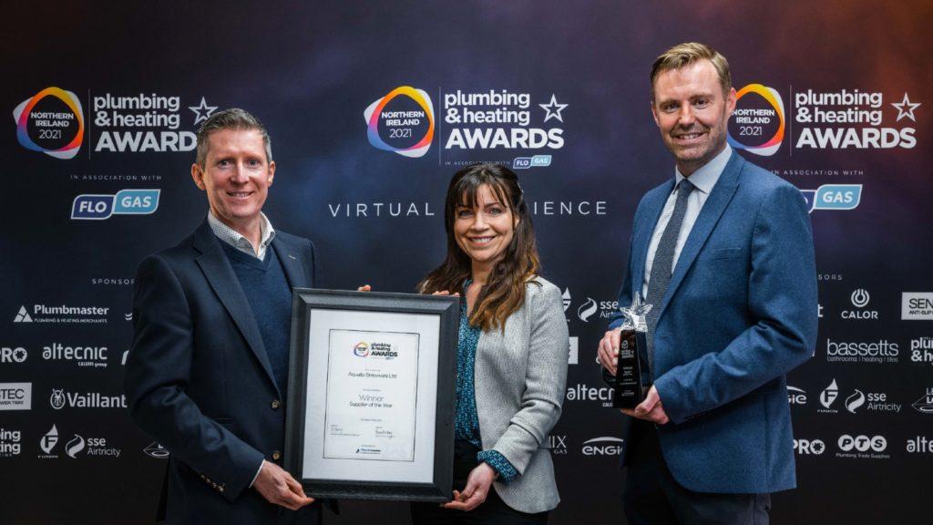 Aqualla named N.I. top supplier at awards
