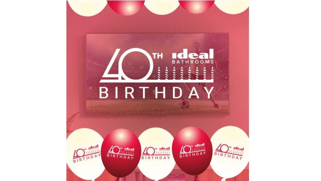 Ideal Bathrooms celebrates 40th anniversary