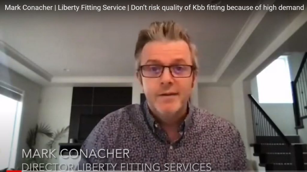 Fitter says don't risk kbb installation quality due to demand