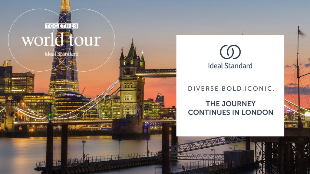 Ideal Standard Together World Tour stops at London