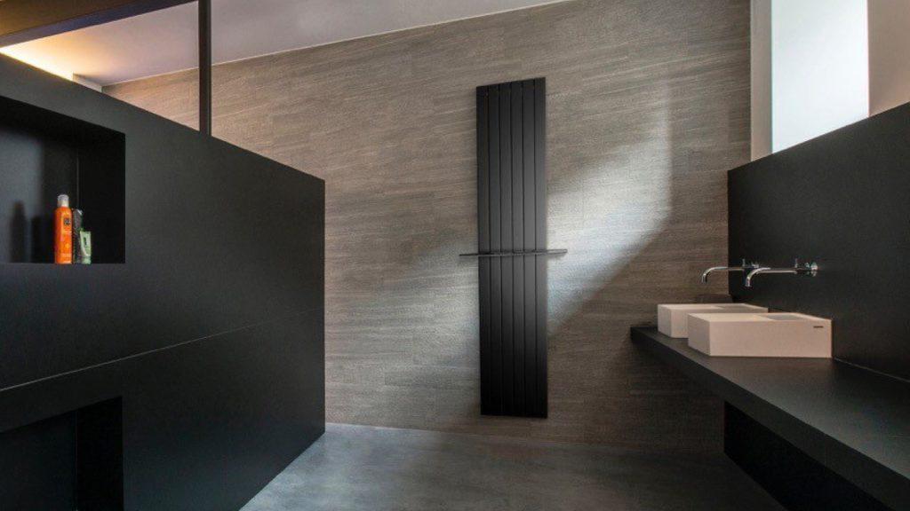 Vasco | Black designer radiators